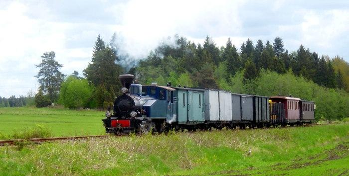 Old Time Mixed Train