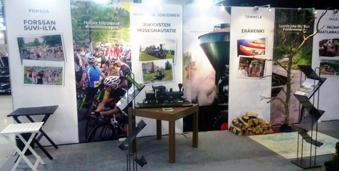 Jokioinen Museum Railway at Tampere Travel Fair