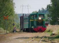 Juna liikkeellä